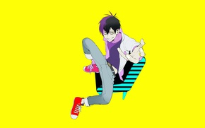 Picture anime, art, Staz, Bloody guy, Blood Lad