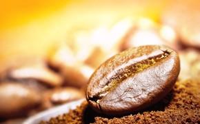 Picture grain, coffee, blur