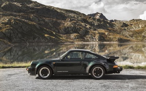 Picture Black, 911, Porsche, Car, Coupe, Metallic, Turbo 3.3, (930), 1977-89