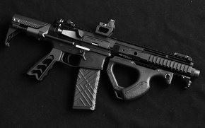 Wallpaper background, weapons, AR15, SBR