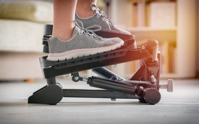 Picture machine, shoes, fitness