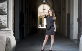 Picture look, model, dress, Saula