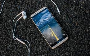 Wallpaper ZTE Gigabit, smartphone, MWC 2017, ZTE