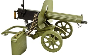 Wallpaper Maxim, WWII, machine gun, bokeh, wallpaper., box ribbon 250 PJSC, the caliber of the 7-62-mm, ...