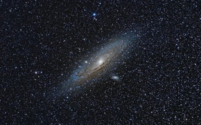 Wallpaper Andromeda Galaxy, The Andromeda Galaxy, M31
