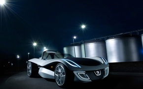 Picture concept, Peugeot, Roadster, flux