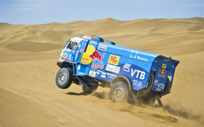 Picture the way, The sky, Sand, Nature, Sport, Speed, Race, Master, Day, Beauty, Russia, 300, Kamaz, …