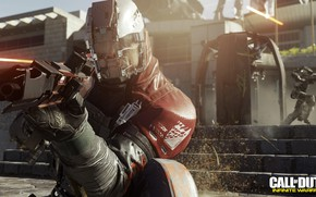 Picture gun, game, weapon, Call Of Duty, suit, pearls, Call Of Duty Infinite Warfare