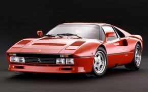 Picture Red, Supercar, 1985, Ferrari 288 GTO