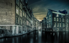 Picture night, home, Amsterdam, channel, Netherlands