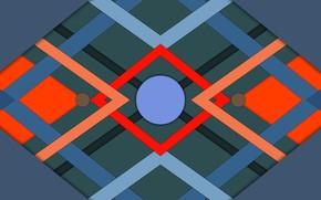 Picture geometry, symmetry, crossing
