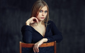 Picture portrait, Studio, Nastya, Evgeniy Bulatov