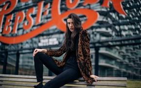Picture look, style, model, Katya