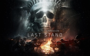 Wallpaper The Division, skull, the statue of liberty, new York, soldiers, art, The last frontier, Last ...