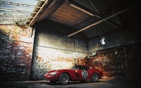 Picture Red, ferrari, GTO, 250