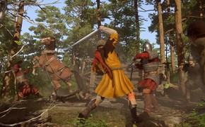 Picture sword, soldier, weapon, fight, ken, blade, horse, pearls, Kingdom Come: Deliverance