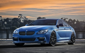 Picture BMW, Blue, Matte, 640i