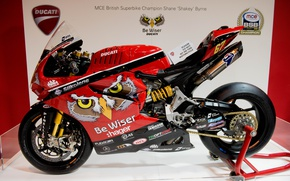 Picture style, motorcycle, bike, Ducati