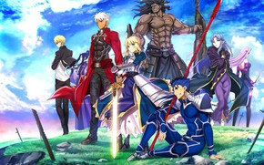 Picture anime, characters, Fate stay night, Fate / Stay Night