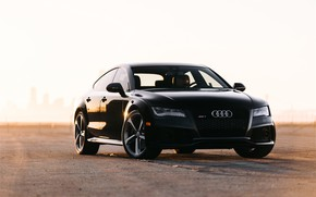 Picture Audi, Black, VAG, RS7