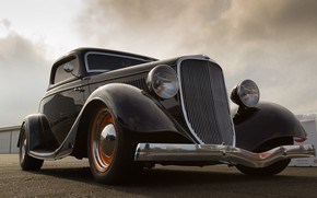 Picture retro, Ford, car, classic