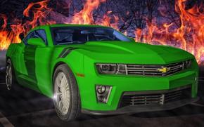 Picture Chevrolet, Camaro, ZLS