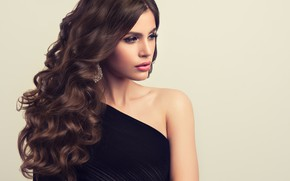 Picture look, edwardderule, face, hairstyle, curls, makeup, hair, decoration, girl, photoshoot