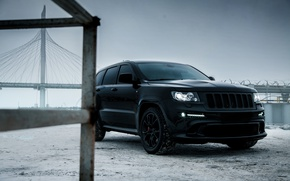 Picture car, machine, auto, car, car, srt, cars, auto, winter, jeep, grand cherokee, jeep grand cherokee, ...
