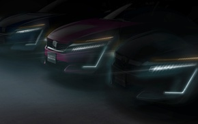 Picture car, Honda, New York, speed, Honda Clarity Series, New York International Auto Show, tecnology Clarity