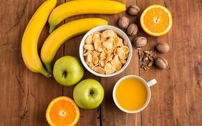 Picture Breakfast, fruit, citrus, cereal
