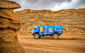 Picture Sand, Sport, Desert, Speed, Stones, Truck, Race, Master, Hills, Russia, Kamaz, Rally, Rally, KAMAZ, The …
