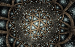Picture background, pattern, color, fractal