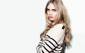 Picture look, pose, model, actress, decoration, hair, Cara Delevingne, Cara Delevingne