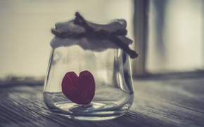 Picture background, heart, Bank