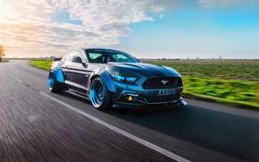 Wallpaper GTR, Liberty Walk, speedhunters, Mustang, Ford