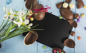 Picture Flowers, Chocolate, Candy, Eggs, Sweets