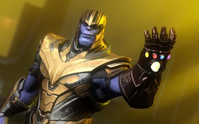 Picture rendering, villain, glove, colossus, avengers, thanos, infinity war