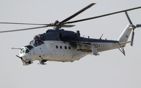 Wallpaper helicopter, shock, Mil Mi-24