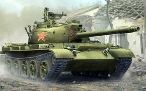 Wallpaper China, WZ-131, Type 62, Chinese light tank