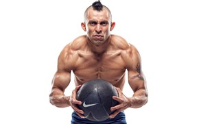 Picture power, muscles, ball, fitness