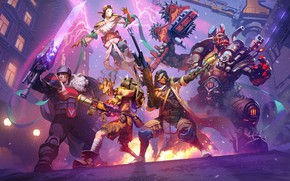 Wallpaper Heroes of the Storm, ana, blizzard, garrosh, Overwatch, art, junkrat, Auriel, varian, hots