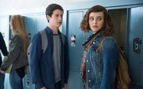 Picture girl, boy, Hanna, tv series, Netflix, Clay, 13 Reasons Why