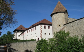 Picture The city, Castle, The building, Castle, Town