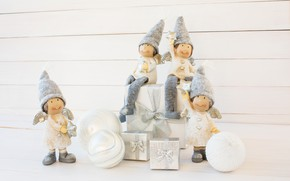 Picture decoration, toys, New Year, Christmas, gifts, happy, Christmas, wood, New Year, Merry Christmas, Xmas, decoration