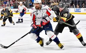 Wallpaper The game, Sport, Ice, Washington, Ice, Vegas, Washington, 2018, Alexander Ovechkin, NHL, NHL, Washington Capitals, ...