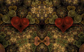 Picture Pattern, Circles, Fractal