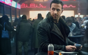 Picture cinema, film, Ryan Gosling, Ridley Scott, movie, Blade Runner, Blade Runner 2049, man