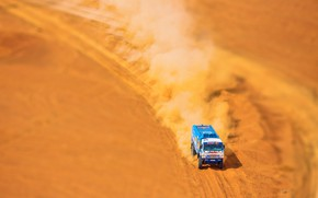 Wallpaper The sky, Sand, Nature, Sport, Speed, Truck, Race, Master, Beauty, Russia, Beast, Kamaz, Rally, Rally, ...