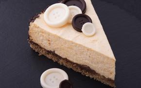 Wallpaper buttons, cake, chocolate, cream, sweet, chocolate, sweet, white, dessert, dessert