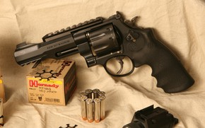 Wallpaper weapons, smith, S&W, m&p, wesson, 357 Magnum, weapon, revolver, Model 327, revolver, smith & wesson